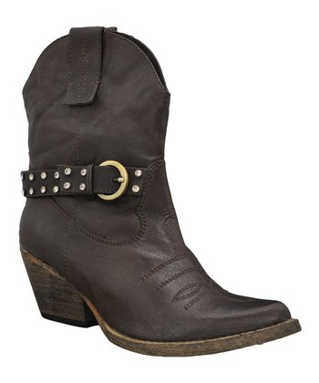 Brown Hustle Ankle Boot