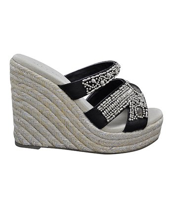 Black Surplus Espadrille