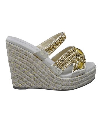 Gold Surplus Espadrille