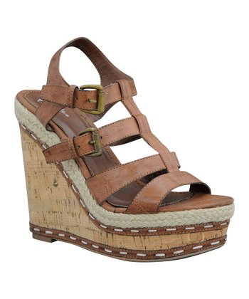 Brown Weltie Wedge