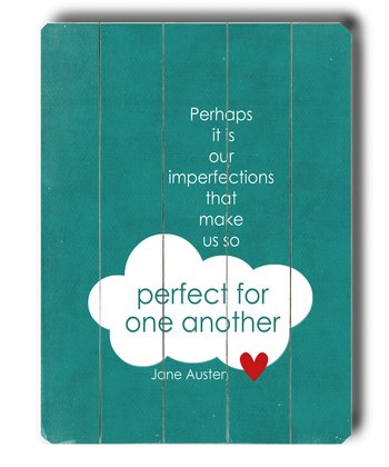 'Perfect for One Another' Wall Art