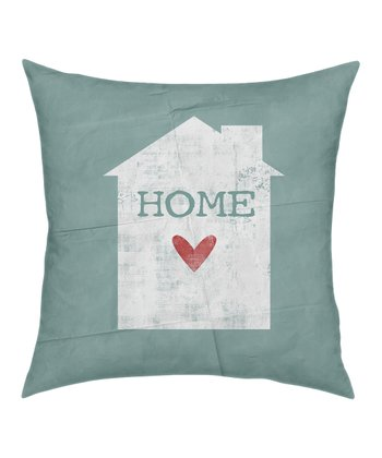 'Home' Throw Pillow