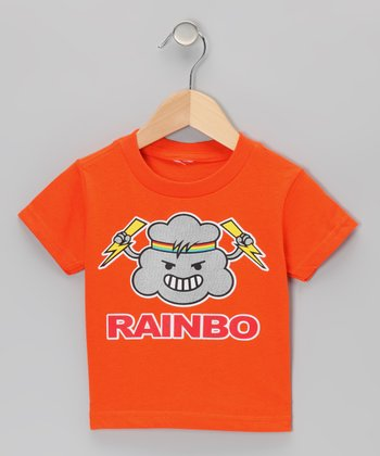 Orange 'Rainbo' Tee - Toddler & Boys