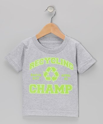 Athletic Heather Recycling Champ Tee - Infant, Toddler & Kids