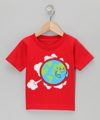 Red Earth Fart Tee - Toddler & Boys