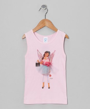 Sticky Pixies Pink Lavinia Fairy Tank - Toddler & Girls