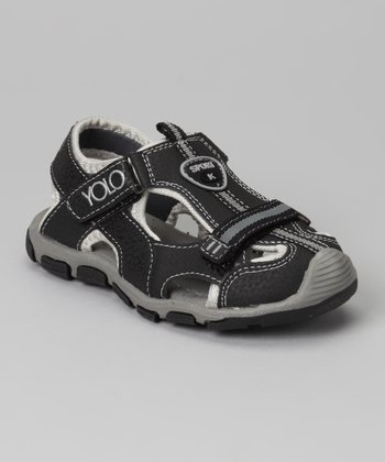 Black Sporty Sandal