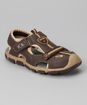 Brown Sporty Sandal