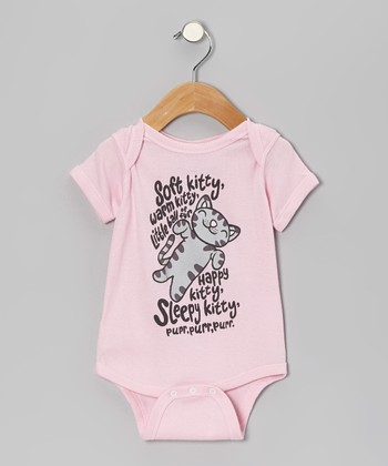Pink 'Soft Kitty' Bodysuit - Infant