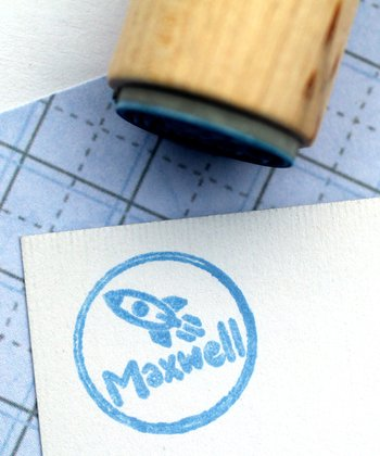 Spaceship Mini Stamp