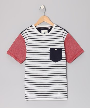 Off-White Ayr Stripe Tee