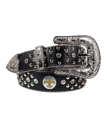 New Orleans Saints Bling Belt - Women