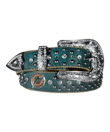 Miami Dolphins Bling Belt - Women