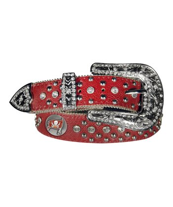 Tampa Bay Buccaneers Bling Belt - Women