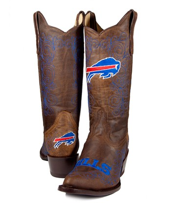 Buffalo Bills Flyover Cowboy Boot - Women