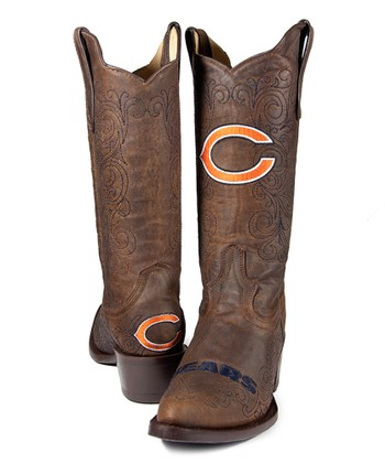 Chicago Bears Flyover Cowboy Boot - Women