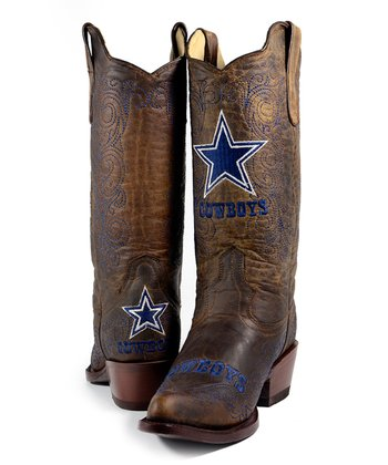 Dallas Cowboys Flyover Cowboy Boot - Women