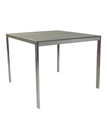 Slat Dining Table
