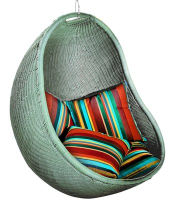 Silver & Stripe Urban Balance Cove Chair