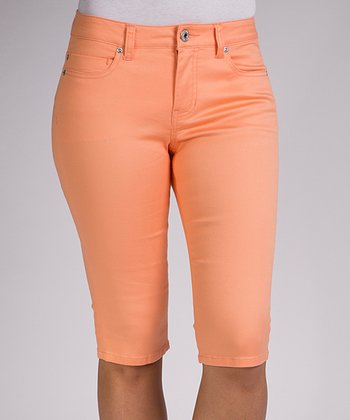 Summer Melon Julia Bermuda Shorts