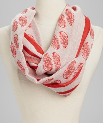 Detroit Red Wings Infinity Scarf - Women