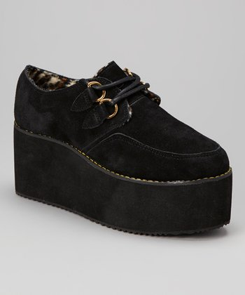 Black Kreep Platform Shoe