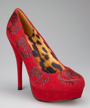 Red Sugar Hiccup Platform Pump