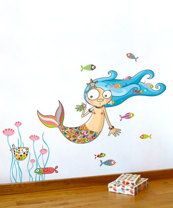 The Mermaid Wall Decal