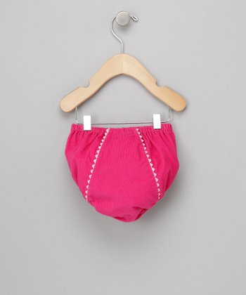 Hot Pink Fancy Pants Diaper Cover - Infant & Toddler