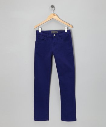 Blue Gemstone Skinny Jeans - Boys