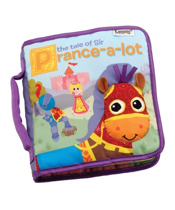 The Tale of Sir Prance-a-Lot Plush Book