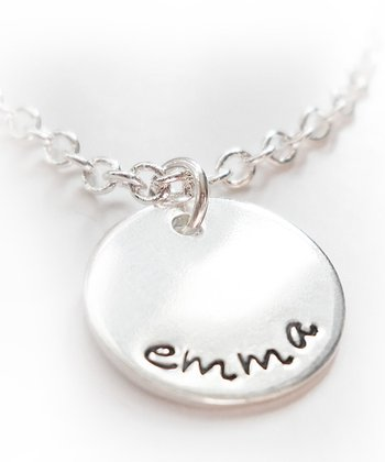 Sterling Silver Personalized Charm Necklace