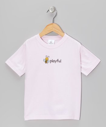 Pink Bee 'Playful' Tee - Toddler & Kids