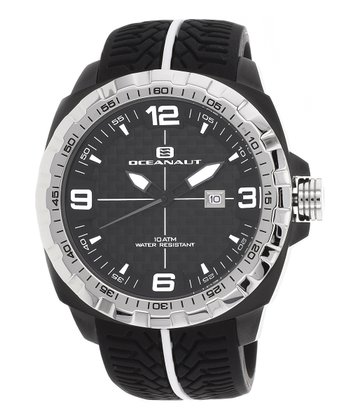 Black & Silver Fair-Play Watch - Men