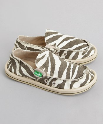 Sanuk - Zebra Good Game