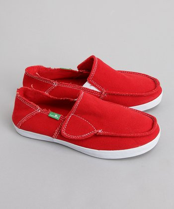 Sanuk - Red Standard Kids'