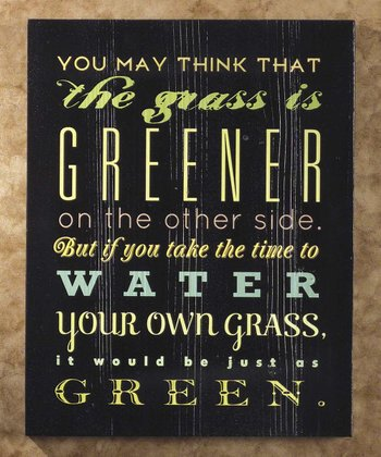 'Grass is Greener' Wall Art