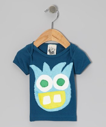 Blue Fun Fiend Short-Sleeve Tee - Infant, Toddler & Kids