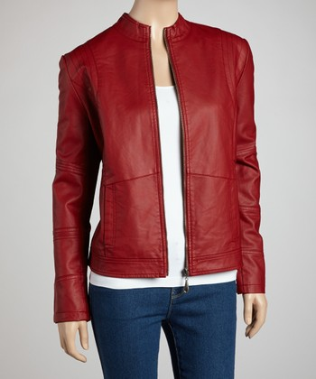 Red Jacket - Women & Plus