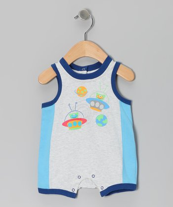 Gray Alien Romper - Infant