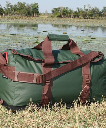 Green & Brown Sportsman's Hydra Duffel Bag
