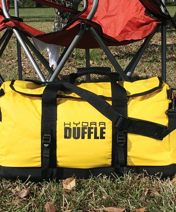 Yellow & Black Sportsman's Hydra Large Duffel Bag