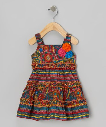 Red Fiesta Dress - Infant