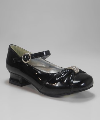 Black Patent Charm Mary Jane