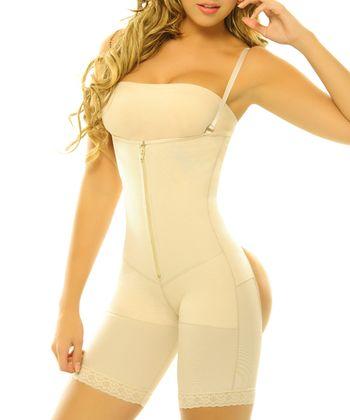 Nude Girasol Underbust Cutout Shaper Bodysuit - Women & Plus