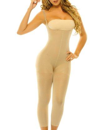 Nude Alheli Underbust Shaper Capri Bodysuit - Women