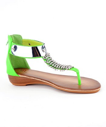 Green Estefania-03 Wedge