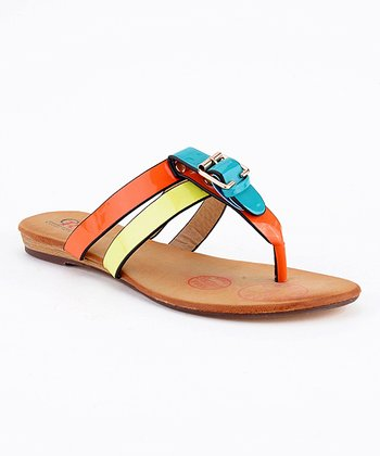 Light Blue Jena-01 Sandal