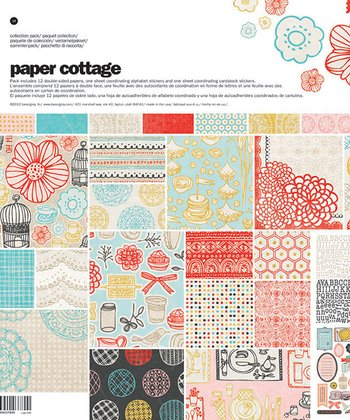 Paper Cottage Set
