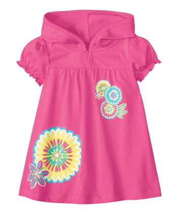 Bouquet Pink Here Comes the Sun Cover-Up Dress - Infant & Toddler